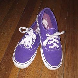 Vans 💜 Classic purple sneakers